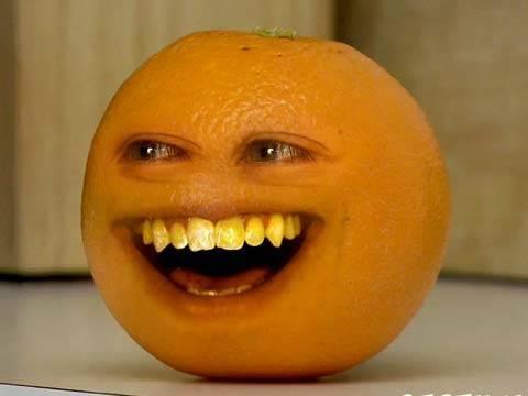 laranja irritante